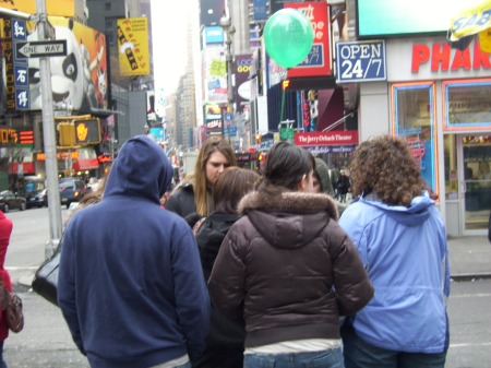 Times Square Tweens
